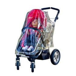 Weathershield for single stroller