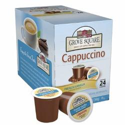 Grove Square French Vanilla Cappuccino (Keurig)