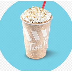 Creamy maple chill from Tim Hortons