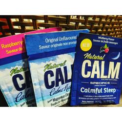 Natural Calm Raspberry - Lemon Magnesium