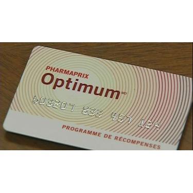 Shoppers optimum card