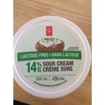 Pc lactose free sour cream