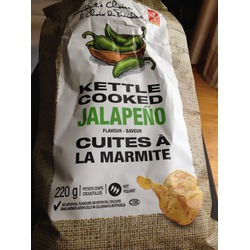President's Choice Kettle Cooked Jalapeno Chips