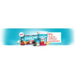 Danone 0% Yogurt
