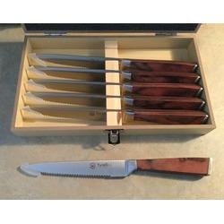 Tyrellex 6 piece steak knife set