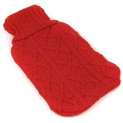 Hand Knit Hot Water Bottle Sweater