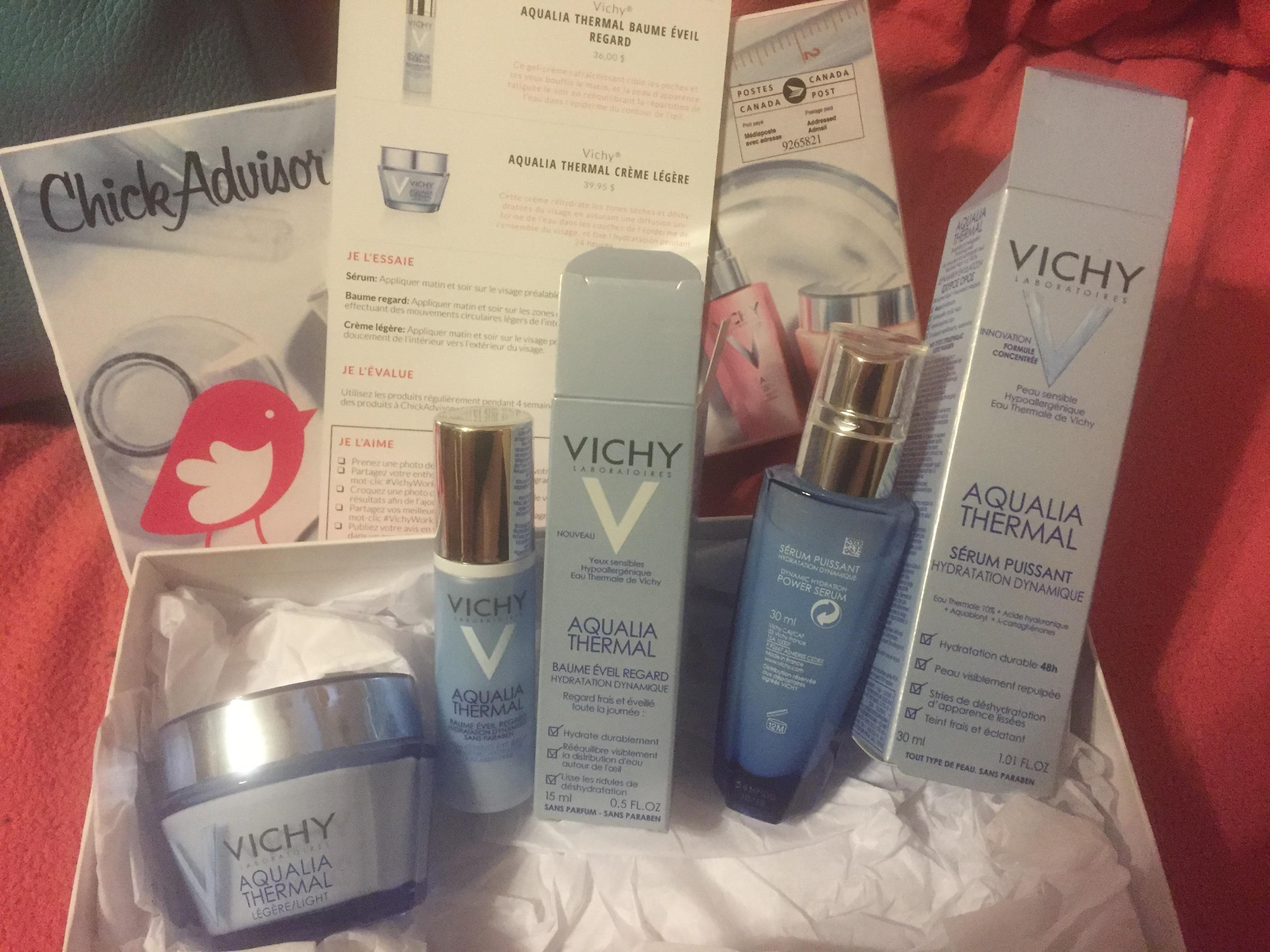 Vichy Aqualia Thermal Awakening Eye Balm Reviews In Eye
