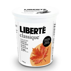 Liberte Classic Maple Flavour Yogurt