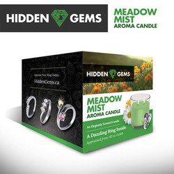 Hidden Gems Aroma Candles - Meadow Mist