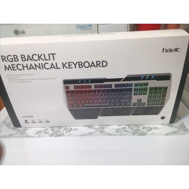 AVIT HV-KB378L RGB Backlit Wired Mechanical Gaming Keyboard with Blue Switches