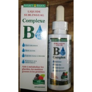 Nature's Bounty B Complex with B12