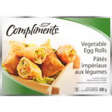 Compliments Egg Rolls 680gr