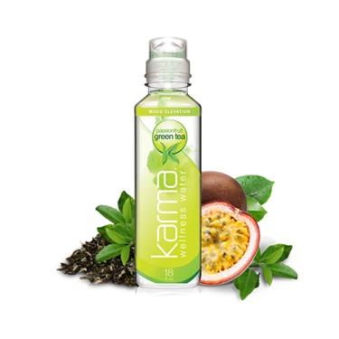 Karma Wellness Water   Passionfruit Green Tea