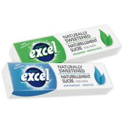 Excel Naturally Sweetened in Spearmint & Peppermint