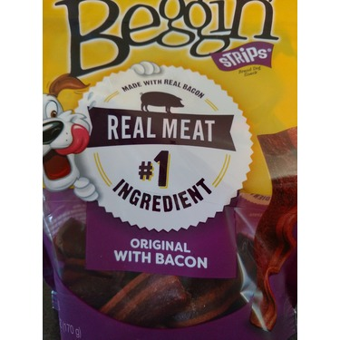 Purina Bacon Beggin Strips 170 gr