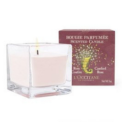 L'Occitane Candied Rose Candle
