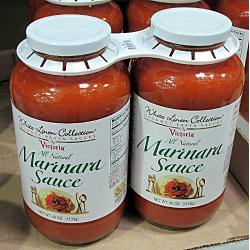 White linen Marinara sauce