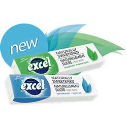 Excel Naturally Sweetened Spearmint Gum