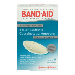 Band Aid Brand Advanced Healing Blister Cushions