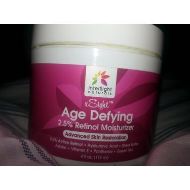 Intersight naturals age defying retinol moisturizer