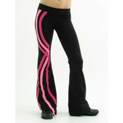 Margarita Activewear Wavy Stripe Pant