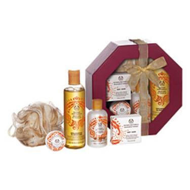 The Body Shop Nutmeg and Vanilla Seasonal Delights Gift Set