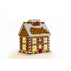 Slatkin & Co. Gingerbread House Luminary