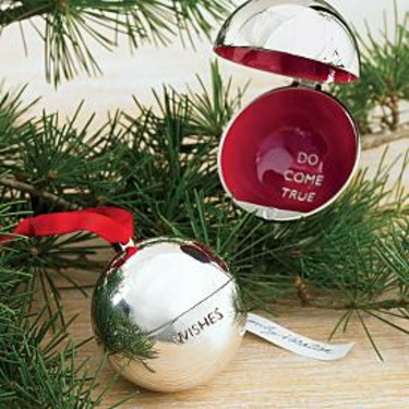 Red Envelope Large Wish Ball Ornament