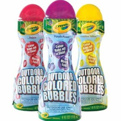 Crayola outdoor colored bubbles