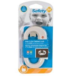 Safety first grip n go cabinet lock