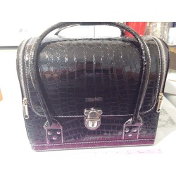 Large Tidy Tote Travel Cosmetic Makeup Bag Organizer Train Case