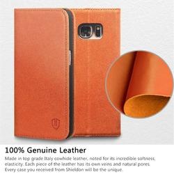 SHIELDON Galaxy S7 Leather Case