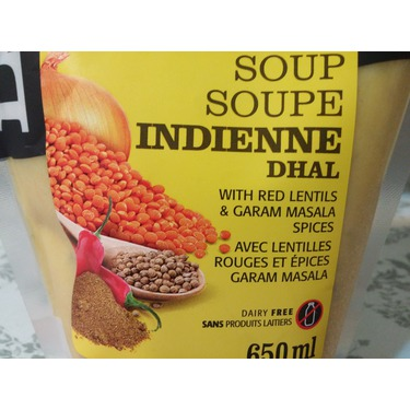 Le Grand Soup Indian Dhal