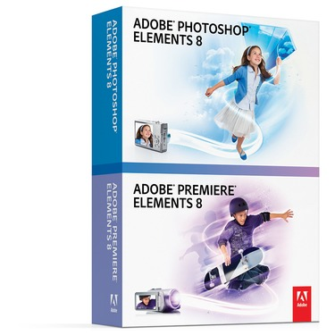 Adobe Photoshop and Premiere Elements 8