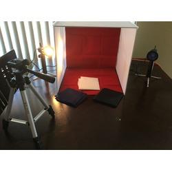 Tabletop photography studio