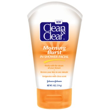 Clean and Clear Morning Burst In Shower Facial