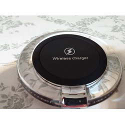 TurnRaise Wireless Charging Pad Qi Wireless Charger 'Circular Soft Glow Design'