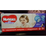 Huggies little movers plus+ size 5