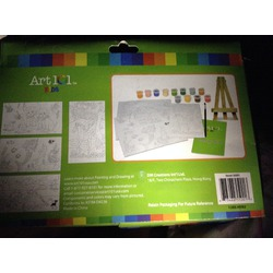 Art 101 paint by numbers gift set
