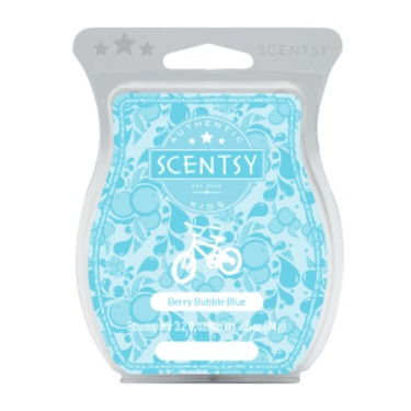 Scentsy Bar - Berry Bubble Blue