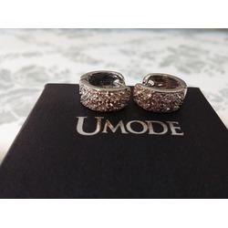 UMODE Cubic Zirconia Small Hoop Earrings