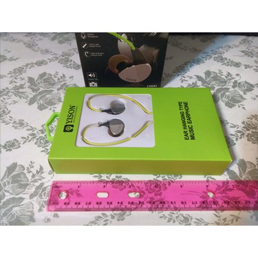 GranVela CX610 Sport Earphones Noise-Isolating In-Ear Headphones with Microphone, Remote, and Universal Volume Control