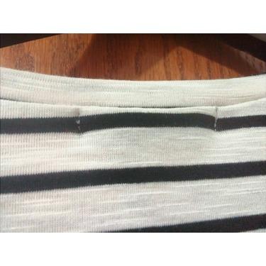 VESSOS Women Blouses V Neck Flowy Striped Sleeveles Swing Blouse Top Tank