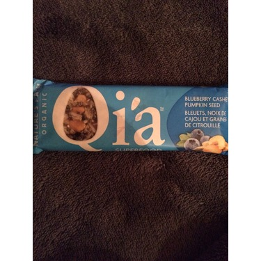 Qi'a Superfood Snack Bar - Blueberry, cashew and pumpkin