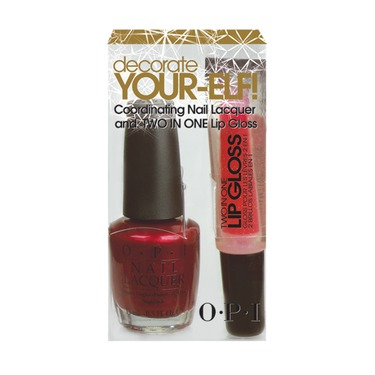 OPI Decorate Your-Elf Polish and Gloss Set