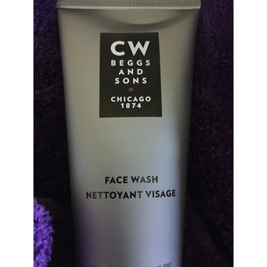 CW Beggs and Sons Face Wash for men