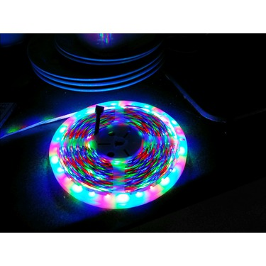 Rxment Led Strip Lighting 10M 32.8 Ft 3528 RGB 600LEDs Flexible Color Changing Full Kit with 44 Keys IR Remote Controller , Control Box ,24V 3A Power Supply for Home Decorative