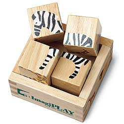 ImagiPLAY Jungle Buddy Blocks