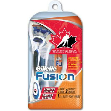 Limited Edition Team Canada Gillette Fusion