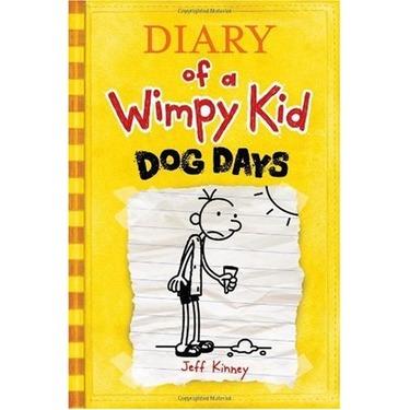 Diary of a Wimpy Kid Dog Days, Jeff Kinney